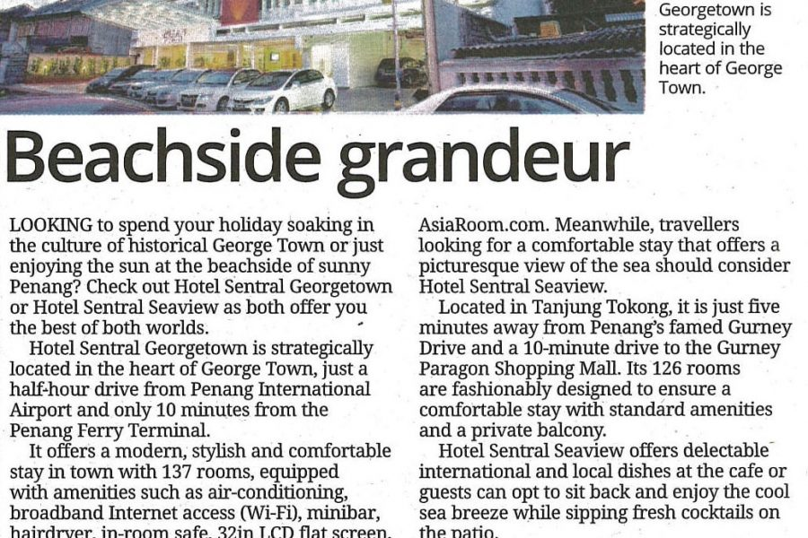 Hotel Sentral Georgetown Penang The Star Traveller Special